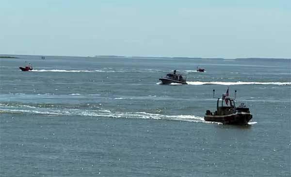 US Navy Swarm Boats Deployed