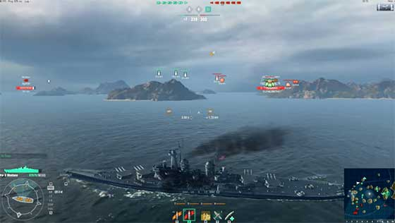 World of Warships Battleships Vs Everybody Else